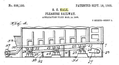 Hale's Tours patent diagram