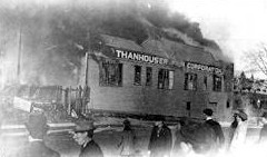 Thanhouser fire