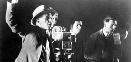 E.A. Dupont filming Das Alte Gesetz