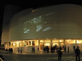 Teatro Verdi at night