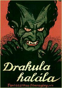 Drakula halála poster