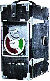 Kinemacolor camera